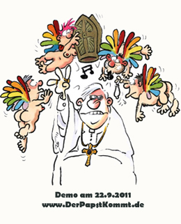 Karikatur von Ralf König